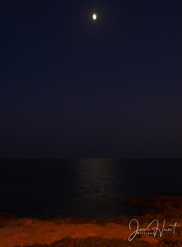 Moon Over Moraira