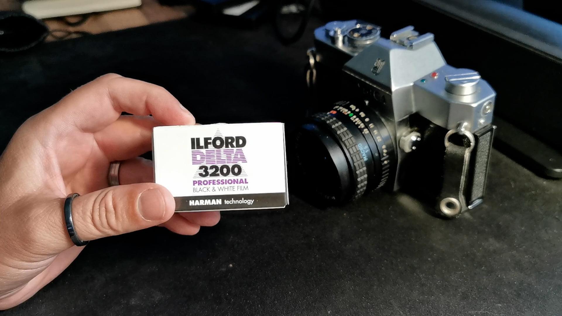 Ilford Delta 3200 Pro