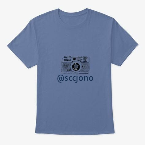 Camera Sketch T-Shirt 1